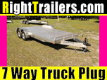 "18"" Car Hauler with 6"" Front Rail"