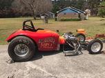 Bantam Roadster with trailer