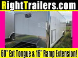 28ft Vintage Race Trailer w/ Torsion Axles
