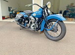 1942 Harley-Davidson FL KNUCKLEHEAD  for sale $64,500