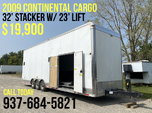09 Continental Cargo 32' Stacker for Sale $19,900