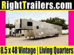 Vintage Outlaw Living Quarters Trailer