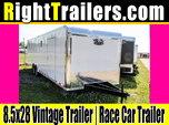 8.5x28 Vintage Outlaw | Race Car Trailer  for sale $10,999