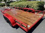 Custom 14 foot UTV/ATV trailer - only one available!  for sale $5,299