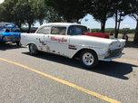 1956 Chevrolet 150 sedan big tire back half