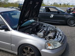 1997 Honda Civic EK Hatch - K20A2 Kswap Track / Circuit Car  for sale $7,800