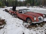 1957 MG MGA  for sale $4,950