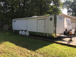 35' 3 Axle Enclosed Trailer  for sale $15,000