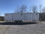 All Aluminum 34 ft Enclosed trailer  for sale $16,000