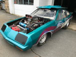 Chevy Monza tube chassis drag car