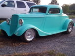 34 Ford 3 window coupe  for sale $26,000