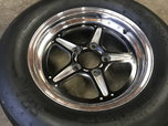 Billet Specialties and Mickey Thompson Drag Tires  for sale $900