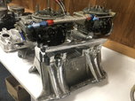 2 Rebuit 4224 660 center squirters carbs   for sale $900