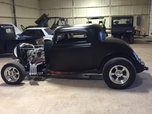 32 Ford Three Window Coupe