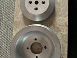 500 Cadillac aluminum crank pulley set  for sale $285