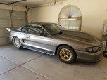 Mustang 4 link back half drag car