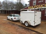 5x8 enclosed stacker trailer  for sale $3,500