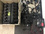 2 Way Kenwood Radios, Headsets, Charging Decks  for sale $3,000