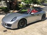 Rare 2019 911 Porsche Carrera GTS Convertible  for sale $137,500
