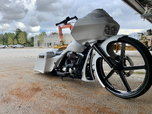 2007 Road king/ road glide custom bagger
