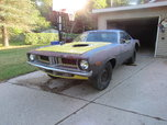 1972 Plymouth Barracuda  for sale $7,500