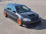 98 Honda EK Hatch. Street ClassTime Attack   for sale $13,000