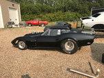 1969 Corvette Drag car Roller 8.50 tag