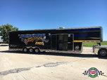 2015 T&E 42' Gooseneck Race Trailer for Sale