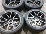 Porsche GT4 Forgeline Wheels  for sale $3,500