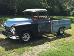 1957 Chevy 3100 Deluxe BBW  for sale $12,500