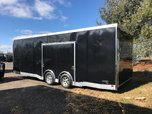 8.5x24 ATC Car Hauler w/ 305 Pgk. & Premium Escape Door