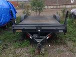2013 model Lawrimore 83 x 18 steel deck 7k car trailer  for sale $2,200