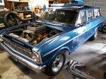 1965 Chevy II wagon Drag Car   for sale $8,900