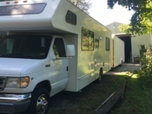Combo Motorhome and Trailer  for sale $15,000