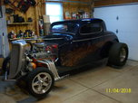 1934 ford coupe,early hot rod,interior needs finishing,runs
