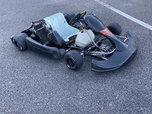 Used. Complete Go Kart CRG Blackstar w/ Rotax Max jr 125fr  for sale $2,300