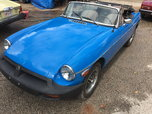 1980 MG MGB  for sale $7,000