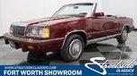1986 Chrysler LeBaron  for sale $16,995