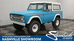 1972 Ford Bronco  for sale $34,995