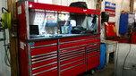 "84"" Snap On Epiq w/hutch/worktop  for sale $8,500"