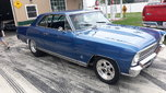 1966 chevy nova II pro street with a rear seat.trade