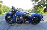 Harley Davidson 1947ul Restored Flathead W Title   for sale $12,000