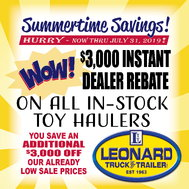 2020 BRAVO STAR PERFORMANCE TRAILER STP8528TA4  for sale $25,877