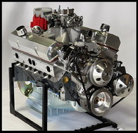 SBC TURN KEY  377 STAGE 2.3 DART BLOCK, CRATE MOTOR 530 hp