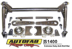 Autofab Extreme Duty Anti Roll Bar Kit 4130 CM  for sale $499