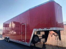 2002 40ft Featherlite Aluminum Stacker Trailer