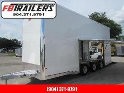 2022 Sundowner Trailers 26ft All Aluminum Stacker Car / Raci