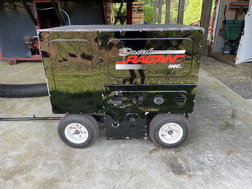 6800 Watt Generator Cart pit road