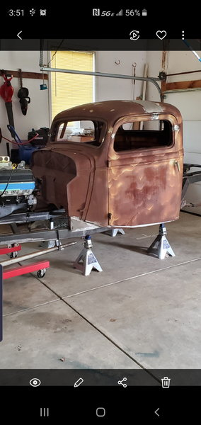 Chopped 35' Ford Cab  for Sale $1,000