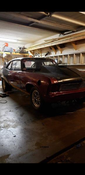 1968 Chevy Nova ROLLER  for Sale $8,500